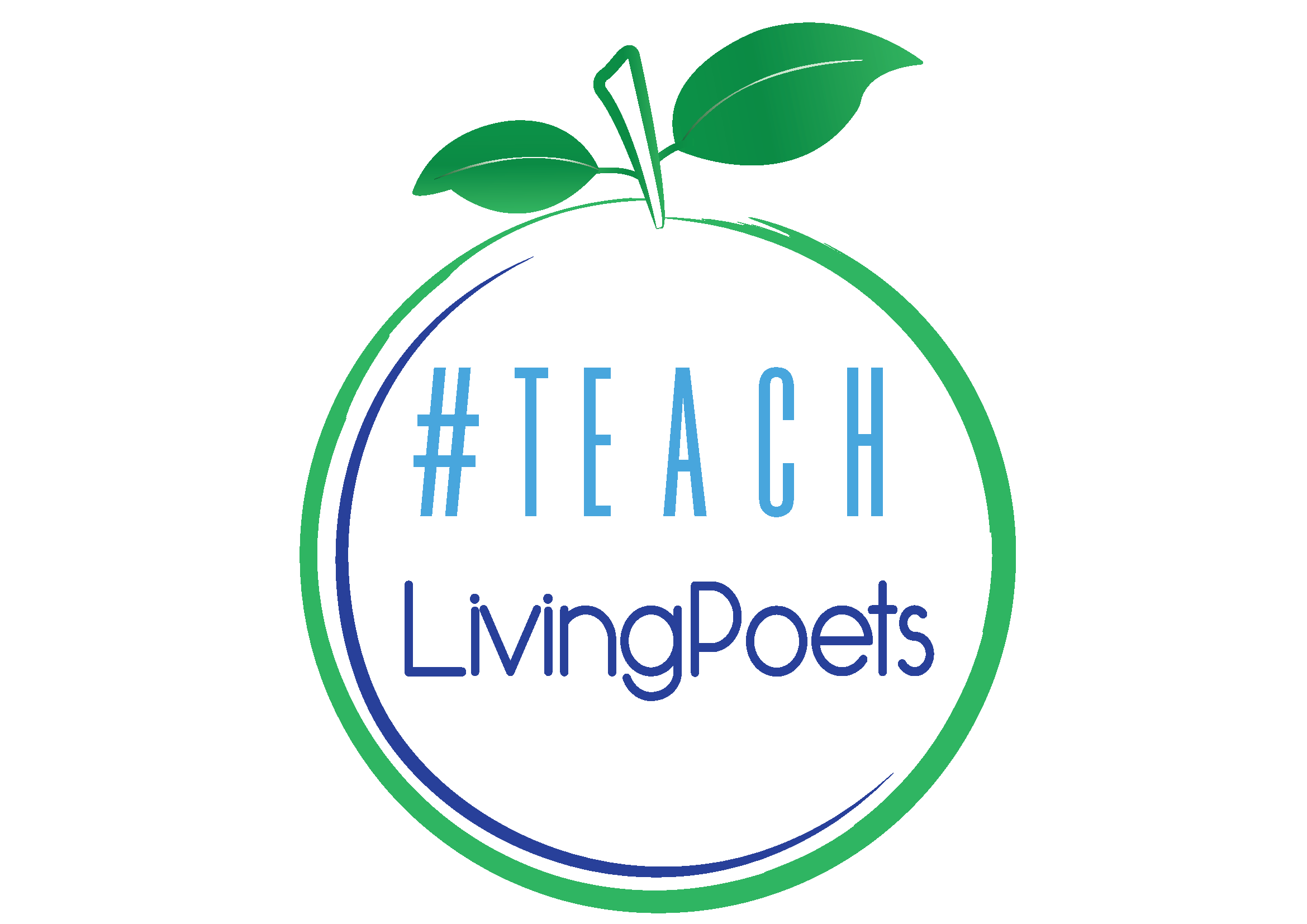 Teach Living Poets Logo