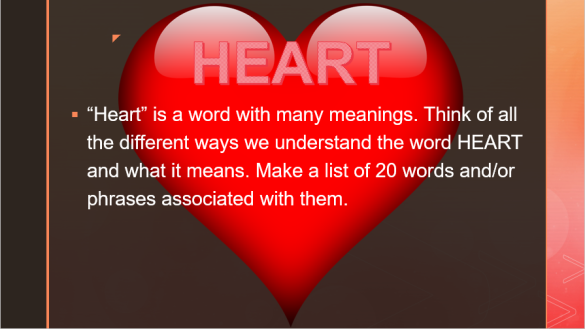a poem from the heart